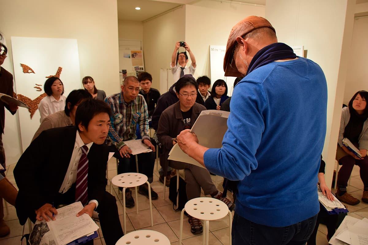 講師を招き、塩竈市のビルドスペースで開催された「勉強会」
